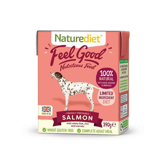 Naturediet Feel Good Dog Food - Salmon - Oh Doggy
