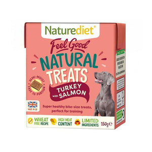 Feel Good Turkey with Salmon Treats 150g-Oh Doggy