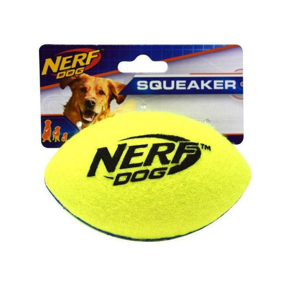 Nerf Dog Max Court Squeak Football-Oh Doggy