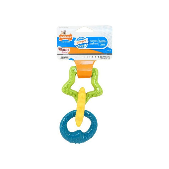 Nylabone Puppy Teething Rings-Oh Doggy