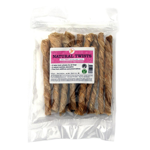 JR Pet Products Natural Twists 100g-simple-Oh Doggy