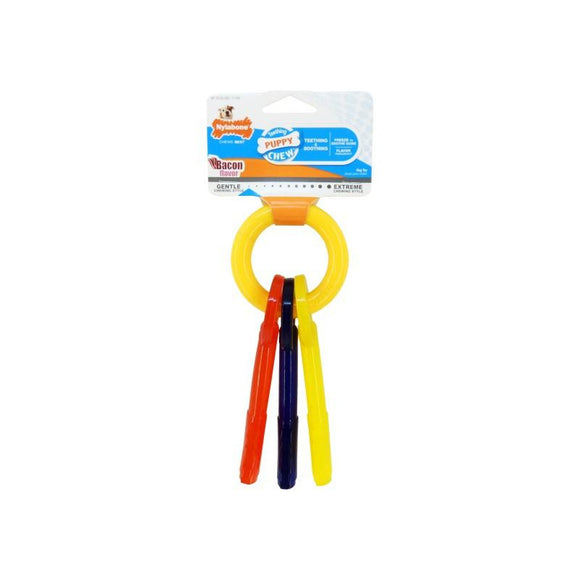 Nylabone Puppy Teething Keys-variable-Oh Doggy