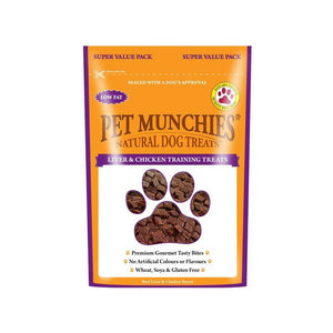 Pet Munchies Liver & Chicken Training Treats-Oh Doggy