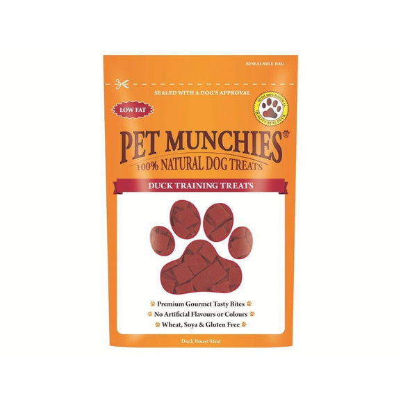 Pet Munchies Duck Training Treats 50g-simple-Oh Doggy
