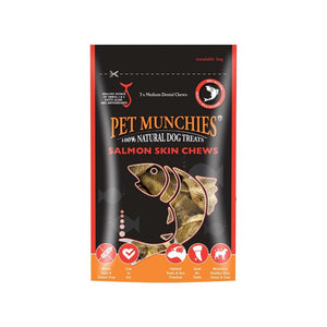 Pet Munchies Salmon Chew Skins-variable-Oh Doggy