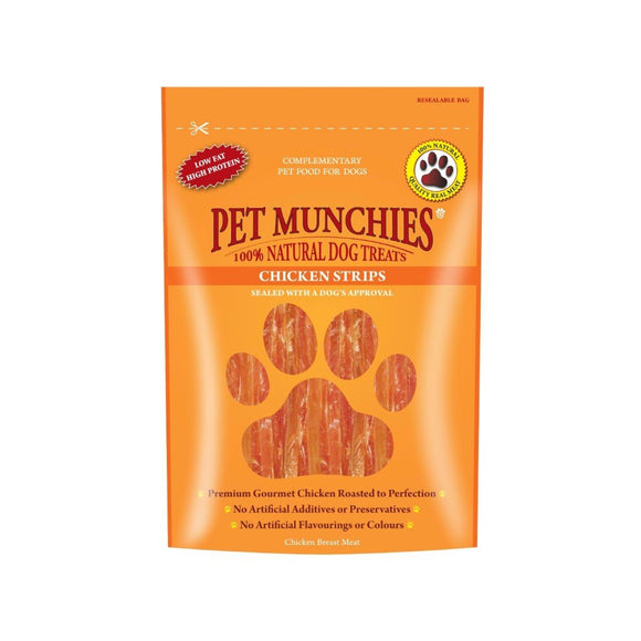 Pet Munchies Chicken Strips-Oh Doggy