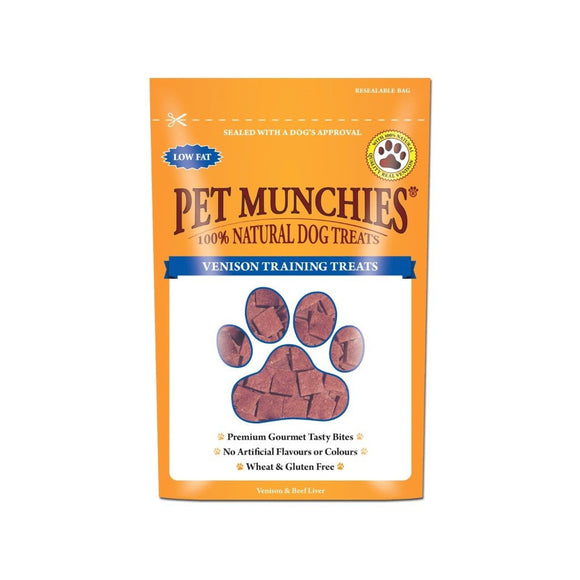 Pet Munchies Venison Training Treats 50g-simple-Oh Doggy