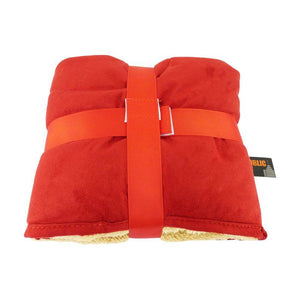 Republic of Pet Comforter Snuggle Blanket Red-Oh Doggy