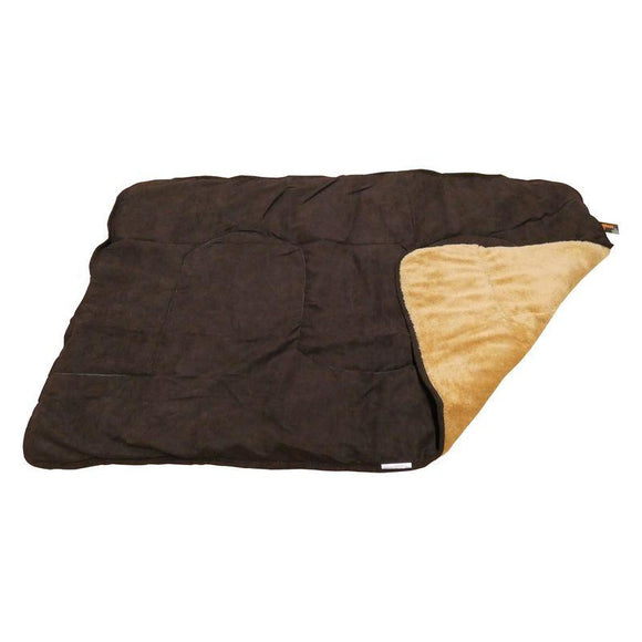 Republic of Pet Brown Comforter Snuggle Blanket-Oh Doggy