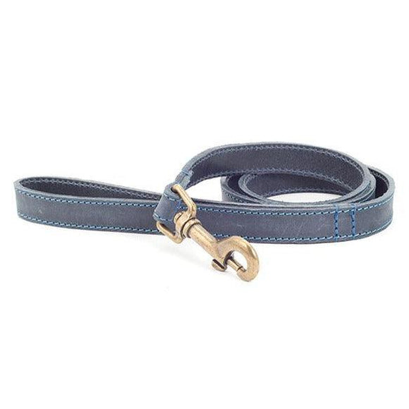Ancol Timberwolf Leather Lead - Oh Doggy