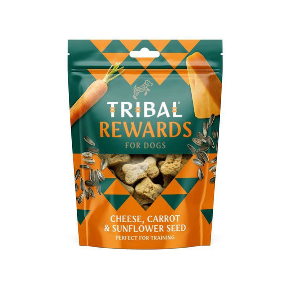 Tribal Cheese, Carrot & Sunflower Seed Dog Biscuits-Oh Doggy