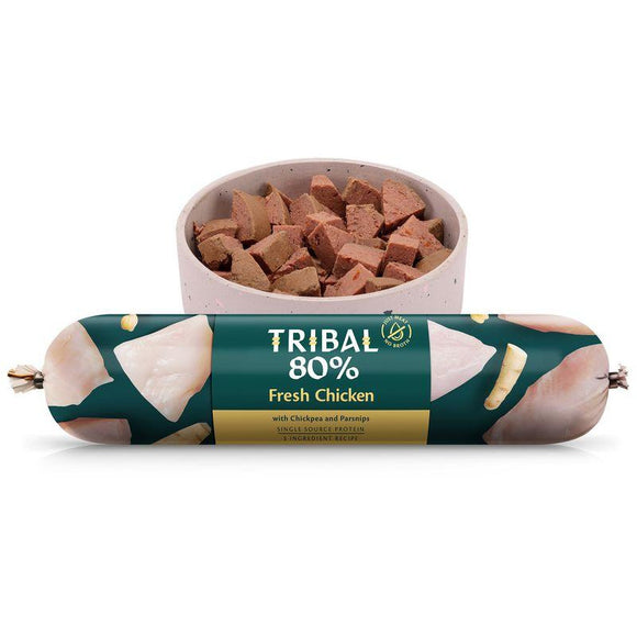 Tribal 80% Chicken Gourmet Sausage 750g-Oh Doggy