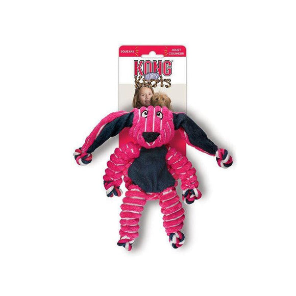 KONG Floppy Knots Bunny-Oh Doggy