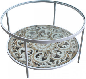 Filigree Round Coffee Table