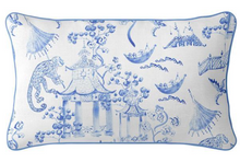 Load image into Gallery viewer, Blue Chinoiserie Cushion | 2 Sizes