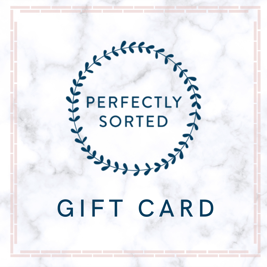 Perfectly Sorted Gift Card
