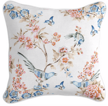 Load image into Gallery viewer, Jardin Chinoiserie Cushion | 2 Sizes