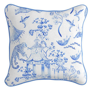 Blue Chinoiserie Cushion | 2 Sizes