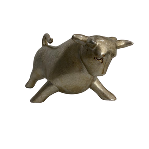 Bernado Bull Resin Sculpture