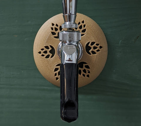 Hop | Beer Shank and Faucet Flange