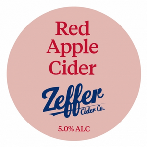 Zeffer Red Apple Cider, 640ml Bomber