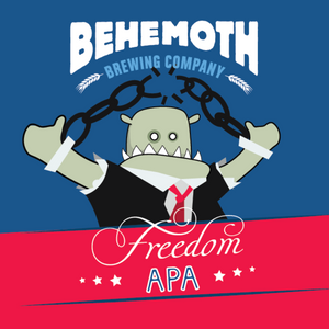 Behemoth Freedom APA, 640ml Bomber