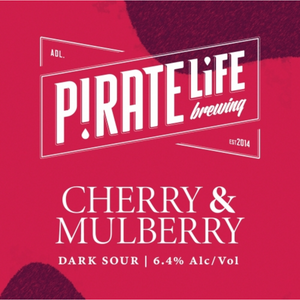 Pirate Life Cherry & Mulberry Sour, 640ml Bomber