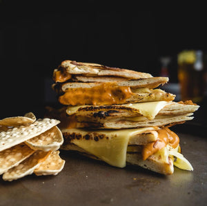 Grilled Cheese Naanwich (vegetarian)