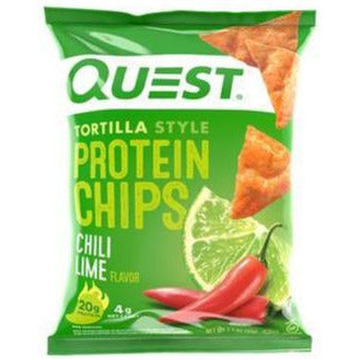 Chili Lime Protein Tortilla Chips, 32g