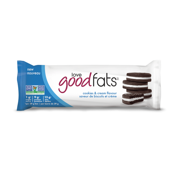Keto Bars Cookies & Cream, 39g (4711826161796)