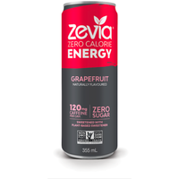 Zero Calorie Energy Drink Grapefruit, 355ml (4711904379012)