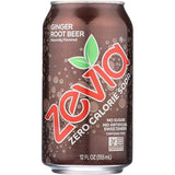 Ginger Root Beer, Stevia Sweetened, 6x355ml (4714596040836)