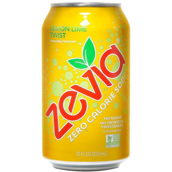 Lemon Lime Twist, Stevia Sweetened, 6x355ml (4714593321092)