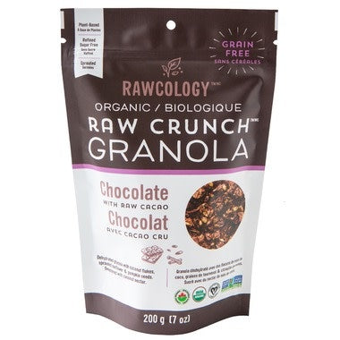 Raw Crunch Granola Chocolate with Raw Cacao, 200g (4711892222084)