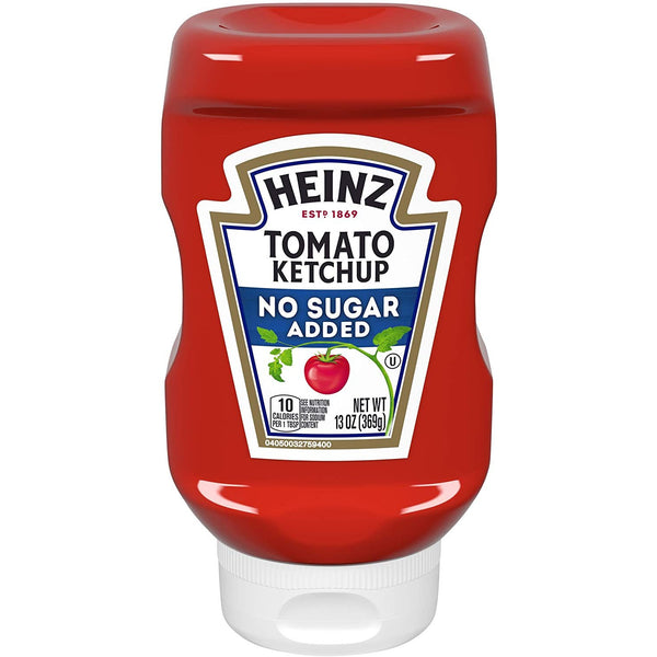 Tomato Ketchup No Sugar Added, 369g