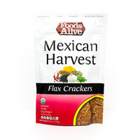 Flax Crackers Mexican Harvest, 113g (4711860961412)