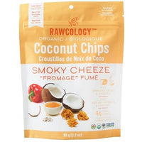 Superfood Coconut Chips Smoky Cheese, 90g (4711837925508)