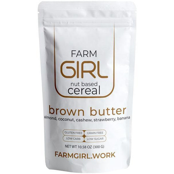 Brown Butter Granola Cereal, 300g