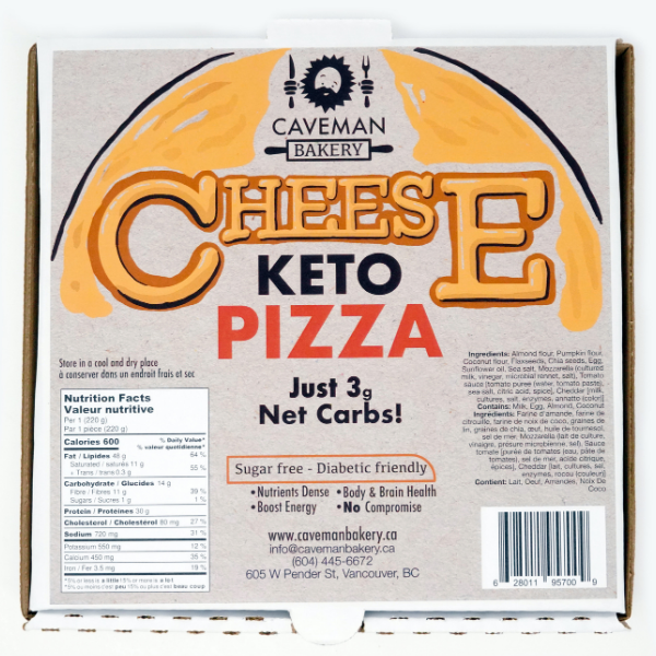 Cheese Pizza, 220g