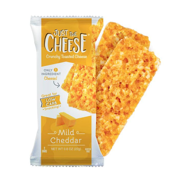 Mild Cheddar Crunchy Toasted Cheese, 22g