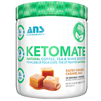 Salted Caramel KetoMate Natural Coffee Booster, 20 servings