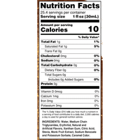 Peanut Butter Cup Keto Syrup with MCT, 750ml