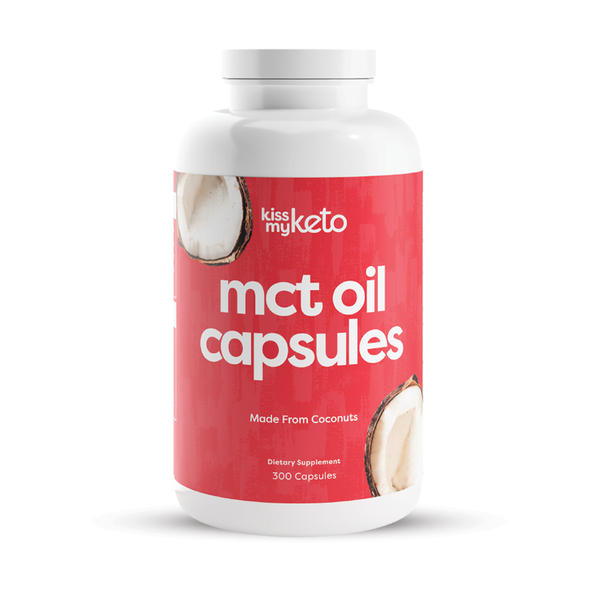 MCT Oil Capsules, 300 Softgels