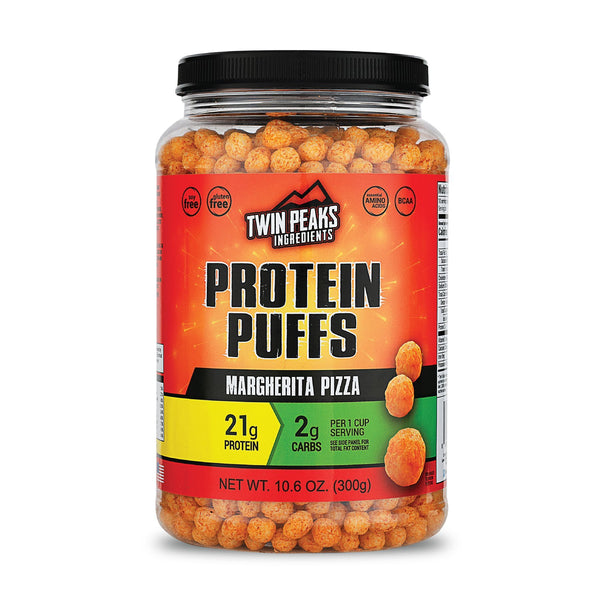 Margherita Pizza Protein Puffs, 300g