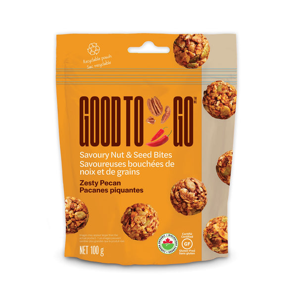 Zesty Pecan Nut and Seed Bites, 100g