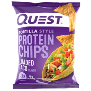 Loaded Taco Protein Tortilla Chips, 32g