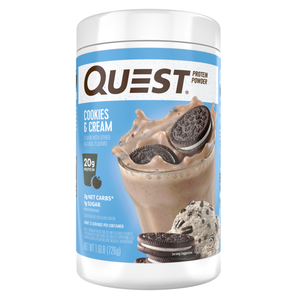 Cookies & Cream Milkshake Protein Powder, 726g