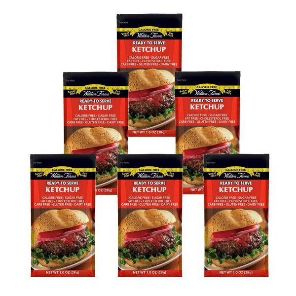 Ketchup Single Serve Packs, 6x28g