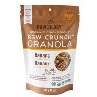 Raw Crunch Granola Banana with Maca, 200g (4711892385924)