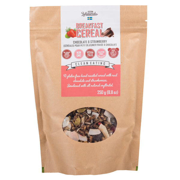 Breakfast Cereal, Chocolate & Strawberry (4711919091844)